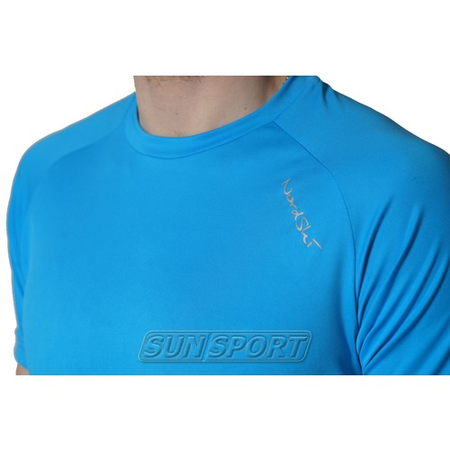 Футболка NordSki M Active мужская Light Blue (фото, вид 2)