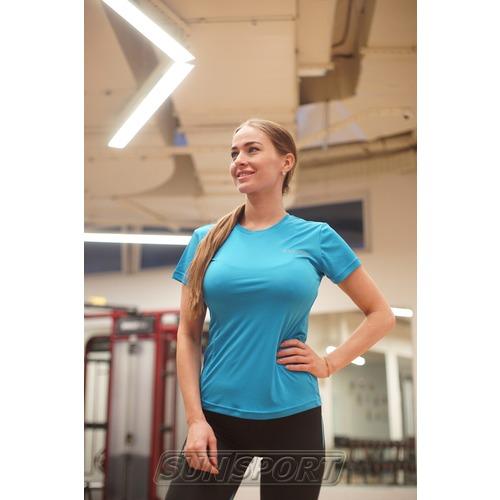 Футболка NordSki W Sport женская Light Blue (фото, вид 1)