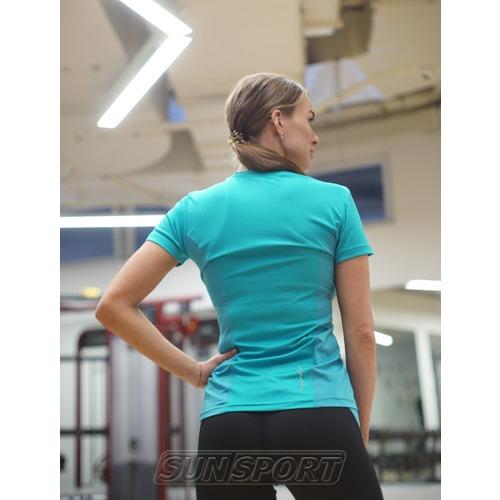 Футболка NordSki W Sport женская Breeze (фото, вид 2)
