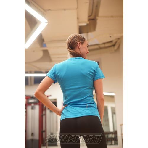 Футболка NordSki W Sport женская Light Blue (фото, вид 2)