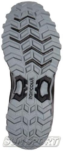 Кроссовки трейловые Saucony Excursion TR12 GTX Black (фото, вид 4)