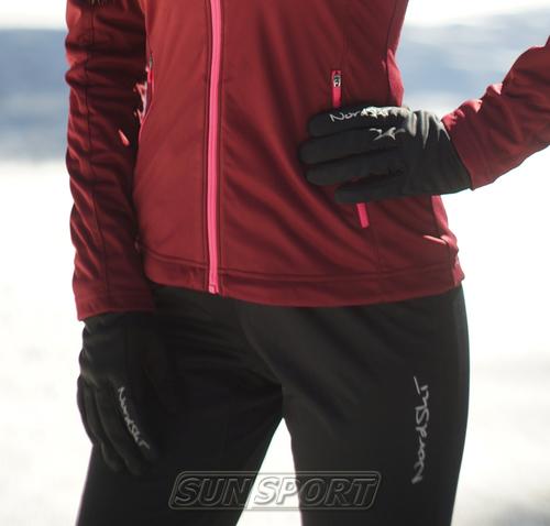 Перчатки NordSki Elite черный (фото, вид 2)