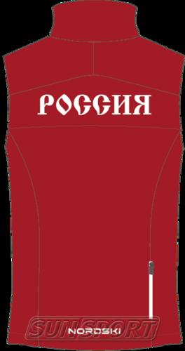 Жилет NordSki M SoftShell мужской Россия (фото, вид 1)