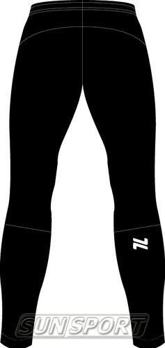 Разминочные штаны NordSki М Motion мужские черный (фото, вид 1)