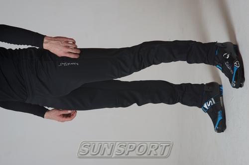 Разминочные штаны NordSki М Motion мужские черный (фото, вид 2)
