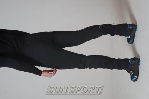 Разминочные штаны NordSki М Motion мужские черный (фото, вид 3)