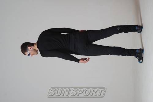 Разминочные штаны NordSki М Motion мужские черный (фото, вид 5)