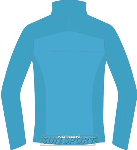 Разминочная куртка W Nordski SoftShell Motion голуб (фото, вид 1)