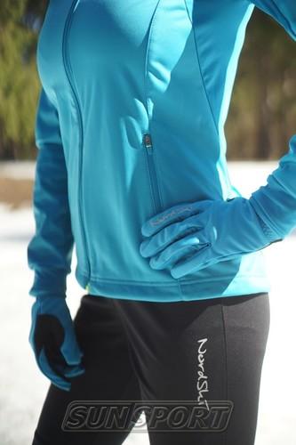 Разминочная куртка W Nordski SoftShell Motion голуб (фото, вид 4)