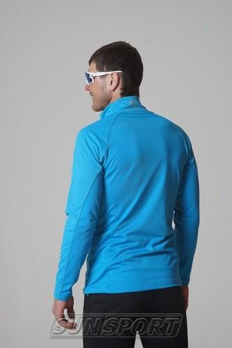 Разминочная куртка NordSki M Elite мужская синяя (фото, вид 2)