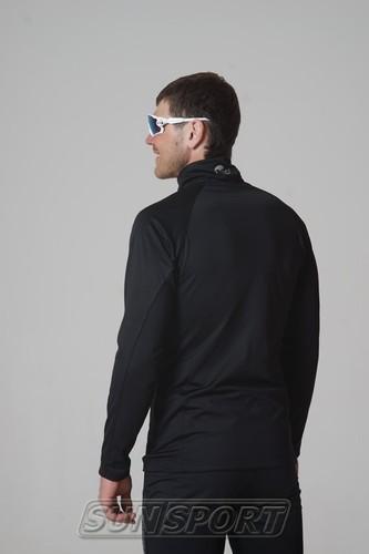 Разминочная куртка NordSki M Elite мужская черный (фото, вид 2)