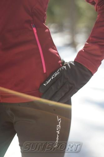 Разминочная куртка W Nordski Gore-Tex Elite wine (фото, вид 3)