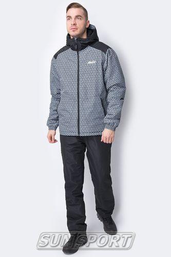 Утепленная куртка Swix Novosibirsk мужская серый (фото, вид 2)