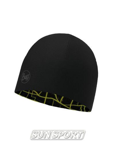Шапка Buff Microfiber Reversible Hat R-Extent Black (фото, вид 1)