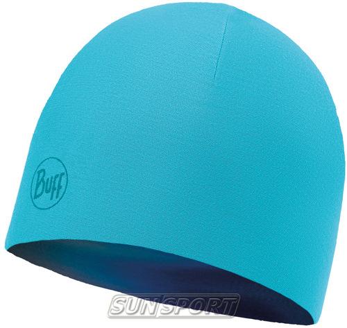 Шапка Buff Microfiber Reversible Hat R-Luminance Multi-Scuba Blue (фото, вид 1)