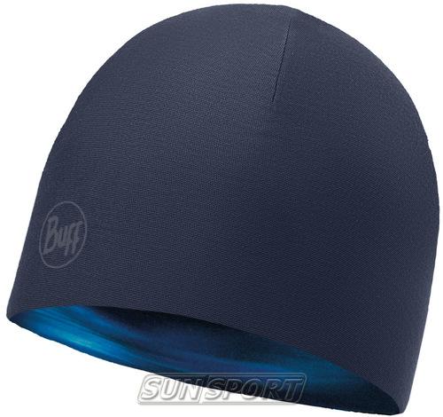 Шапка Buff Microfiber Reversible Hat Shading Blue (фото, вид 1)