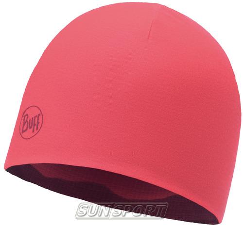 Шапка Buff Microfiber Reversible Hat Soft Hills Pink Fluor (фото, вид 1)