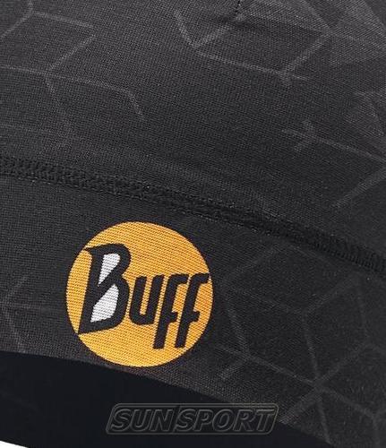 Шапка Buff Microfiber 1 Layer Hat Helix Black (фото, вид 1)