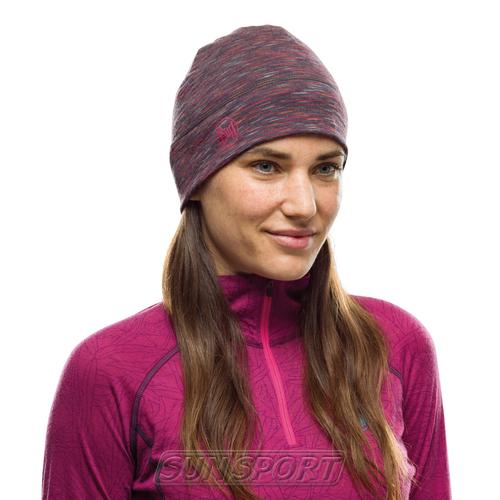 Шапка Buff Lightweight Merino Wool Hat Shale (фото, вид 1)