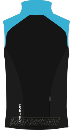 Жилет M Nordski Premium SoftShell голуб/черн (фото, вид 1)