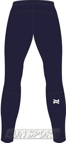 Разминочные штаны NordSki W Motion женские BlueBerry (фото, вид 1)