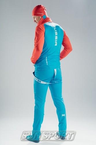 Разминочная куртка Jr Nordski Premium SoftShell син/красн (фото, вид 5)