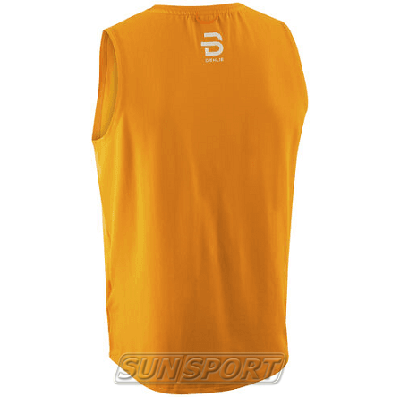 Майка BD M Singlet Gear мужская оранжевый (фото, вид 1)