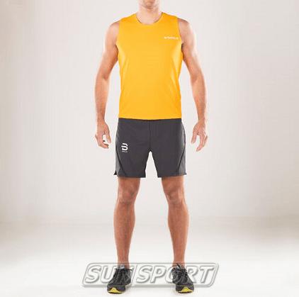 Майка BD M Singlet Gear мужская оранжевый (фото, вид 2)