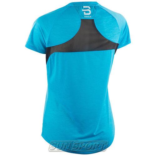 Футболка BD W T-Shirt Oxygen женская голубой (фото, вид 1)