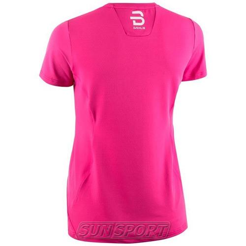 Футболка BD W T-Shirt Focus женская розовый (фото, вид 1)