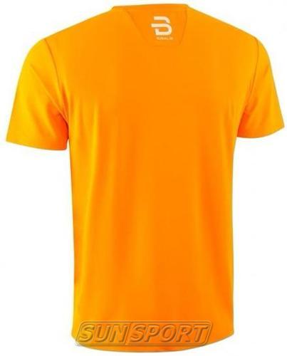 Футболка BD M T-Shirt Focus мужская оранжевый (фото, вид 1)