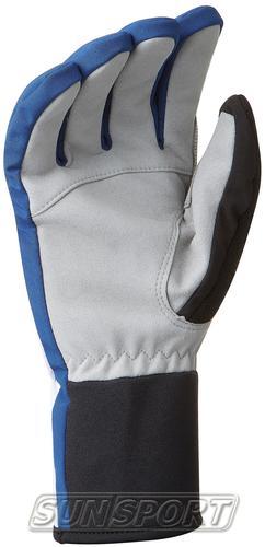 Перчатки BD Glove Track синий (фото, вид 1)