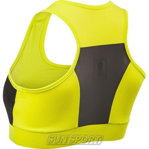 Топ спортивный BD Training Tech Wind Bra желтый (фото, вид 1)