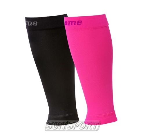 Гетры Noname Compression Calves розовый (фото, вид 1)