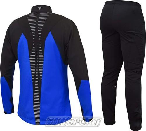 Разминочный костюм Noname On The Move 18 син/черный (фото, вид 1)