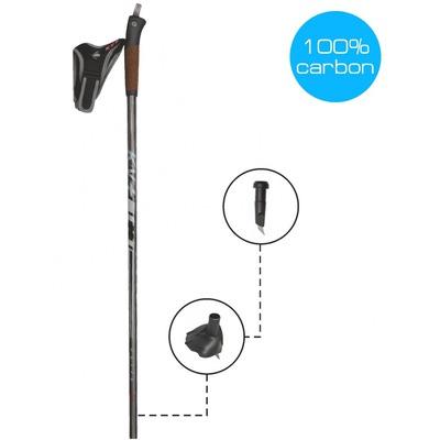 Палки лыжные KV+ Elite Clip (100% Carbon) (фото, вид 1)