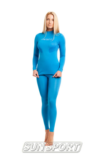 Термобелье Рубашка KV+ Seamless синий (фото, вид 2)