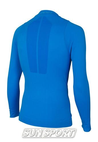 Термобелье Рубашка KV+ Seamless синий (фото, вид 4)