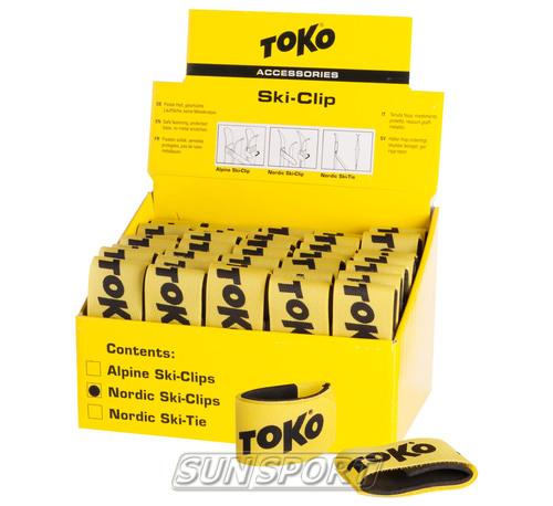 Связки для лыж Toko Ski Clip (фото, вид 1)