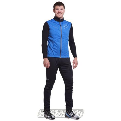 Жилет NordSki M Premium SoftShell мужской синий (фото, вид 3)