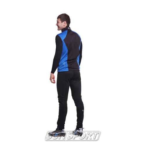 Жилет NordSki M Premium SoftShell мужской синий (фото, вид 4)