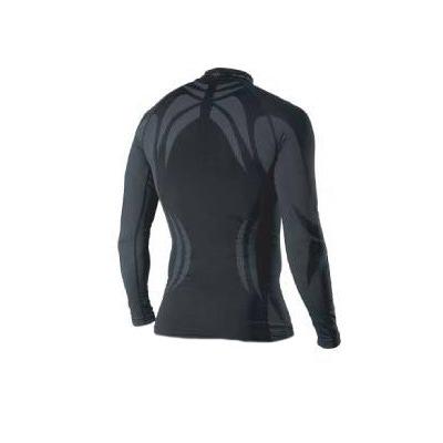 Термобелье Рубашка Noname Skinlife чёрный (фото, вид 1)