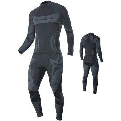 Термобелье Рубашка Noname Skinlife чёрный (фото, вид 2)