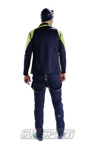 Жилет NordSki M Premium SoftShell мужской зелен/т.синий (фото, вид 3)
