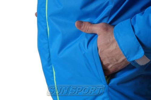 Костюм Ветрозащитный NordSki M Motion мужской синий (фото, вид 5)