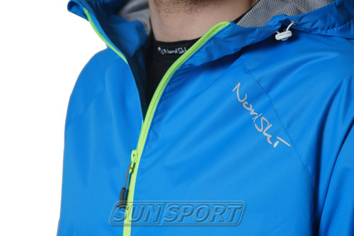 Костюм Ветрозащитный NordSki M Motion мужской синий (фото, вид 4)