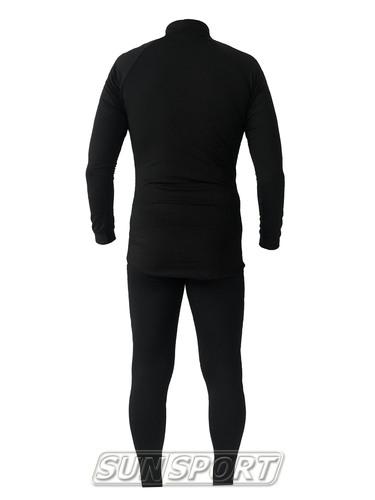 Термобелье Комплект Sport365 черный (фото, вид 1)
