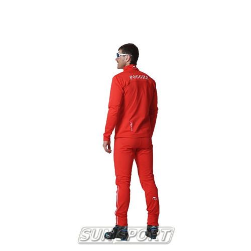 Разминочный костюм NordSki M SoftShell мужской Россия (фото, вид 1)