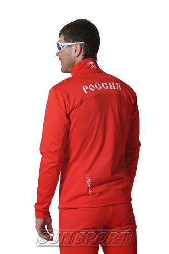 Разминочный костюм NordSki JR Premium SoftShell детский Россия (фото, вид 3)