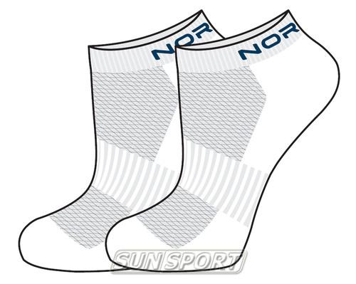 Носки комплект NordSki Run белый (фото, вид 3)